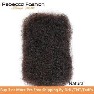 Pelo humano Remi brasileño Afro rizado a granel 50 gramos/Unid Afro Pelo Rizado Crochet para trenzar cabello a granel envío gratis