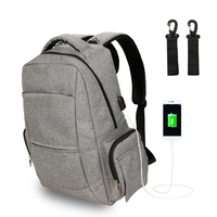 ABOUTBABY Diaper Bag Mommy Bags Baby Care For Dad And Mom USB Charging Interface baby backpack diaper bags