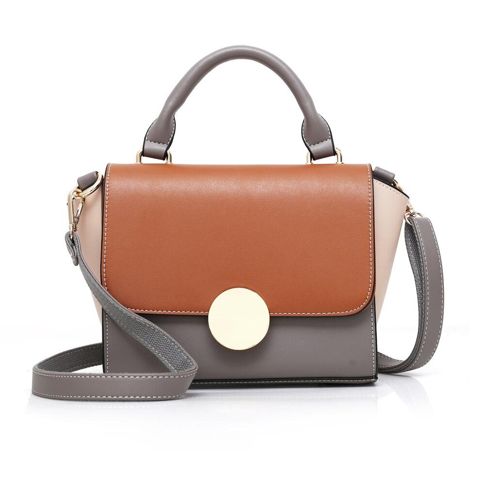 Candy Color Women Handbag Girls Leather Shoulder Bag Fashion Female Messenger Bag Purses Clutches bolsas Famous Design New