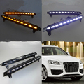 LED daytime running light for Audi Q7 2006 2007 2008 2009 with turning light function Wholesale Price Brand New Best Quality