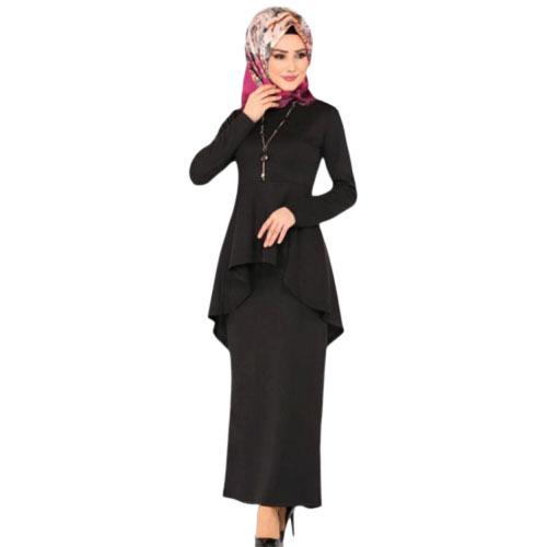 2019 new elegant dress autumn Turkey fashion style  S-5XL