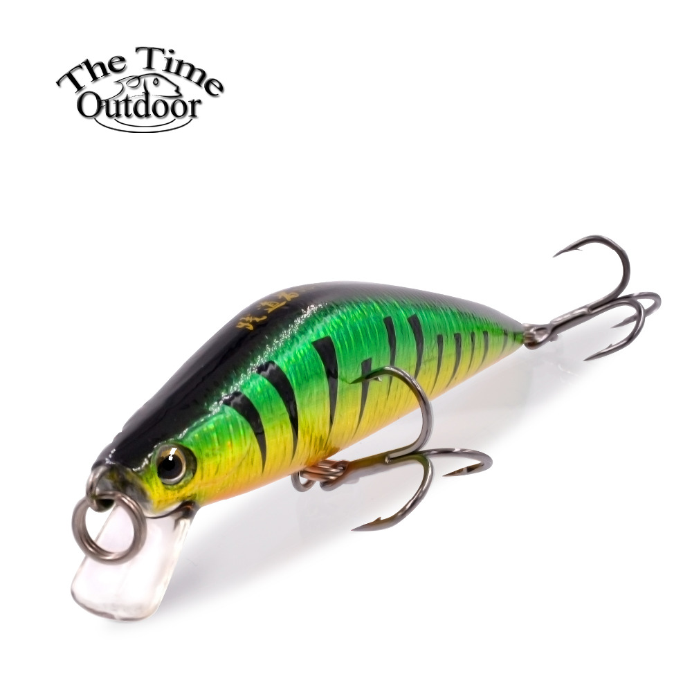 2017 the time brand jd75 hard plastic fishing lure 8g 75mm for Best fishing lures 2017