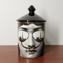 Candle-Holder Ceramic-Products Scented Desktop-Decoration Retro European-Style Home Face