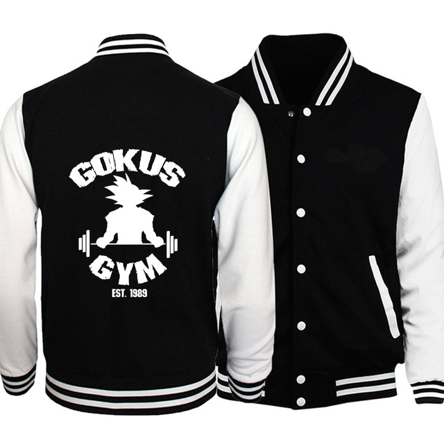 Dragon Ball Z Men Gym Sweatshirt