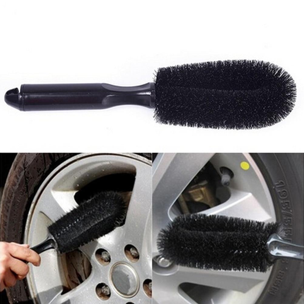 Motorcycle Car Wheel Washing Cleaning Tool Wheel Tire Rim Scrub Brush Car Truck