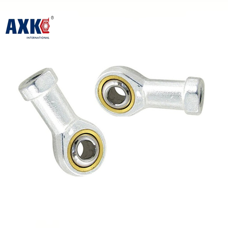 AXK Free shipping SI12T/K PHSA12 12mm right hand female thread metric rod end joint bearing SI12TK si12t 30mm bore female metric threaded high quality internal thread rod end joint bearing free shipping