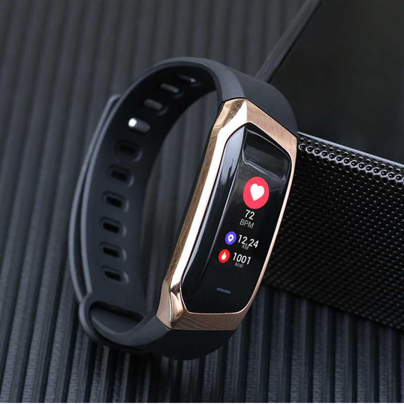 E18 Smart Fitness Bracelet Watch Heart Rate Monitor Sport Smart Wristband For iOS Android Fitness Tracker Smart Band Relogio