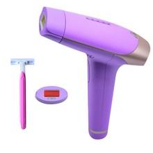 IPL Laser Epilator Hair Removal Machine 300000 tembakan Permanen Bikini Pemangkas Depilator Listrik dengan pisau cukur rambut gratis
