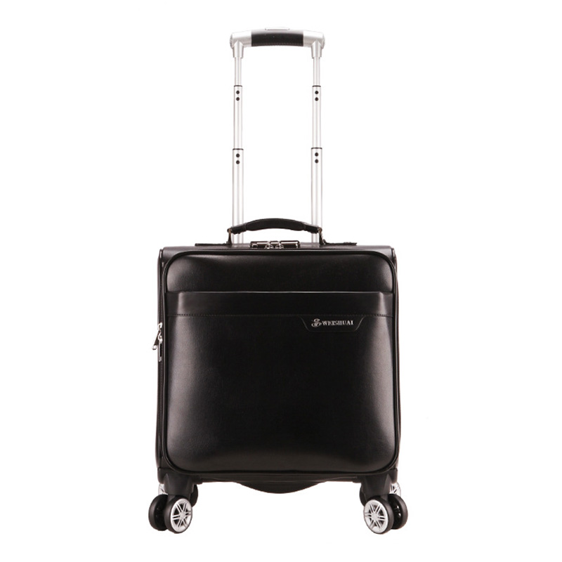 16 Travel Luggage Boarding Case Short Trip Trolley Travel Suitcase Business Rolling Luggage Suitcase On Wheels vintage suitcase 20 26 pu leather travel suitcase scratch resistant rolling luggage bags suitcase with tsa lock