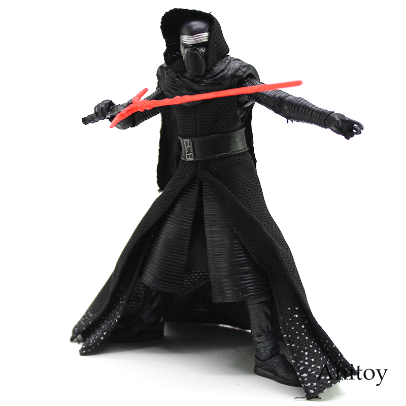 NEW HOT Star Wars 7 The Force Awakens Kylo Ren Star- Wars PVC Action Figure Collectible Model Toy 16cm buttoned split front skirt