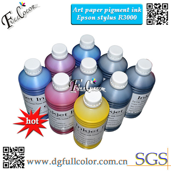 Bulk Printer Ink R3000 Pigment ink coat paper inks compatible T159 ink cartridge and ciss system
