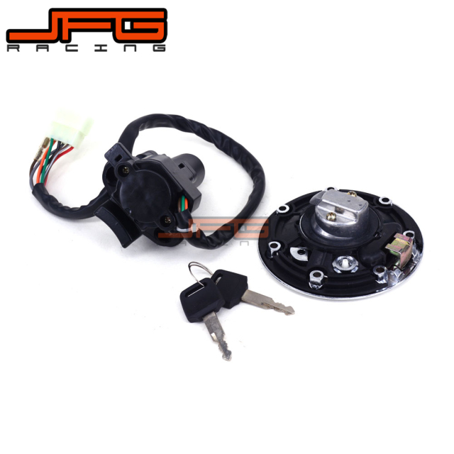 US $28.37 14% OFF|Lockset Ignition Key Switch Fuel Gas Cap Lock Keys on