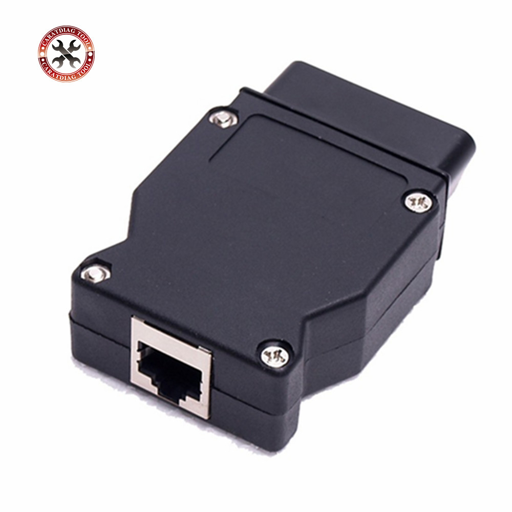 Careful Obd Plug Adapter For Bmw Enet Ethernet To Obd 2 Interface E-sys Icom Coding F-series Interface Connector Cable Diagnostic Tool