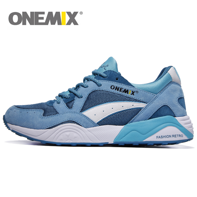 ONEMIX 2019 Retro Trend Men's Running Shoes For Women Breathable Walking Outdoor Sport Sneakers Free Shipping 36-40