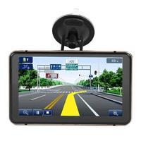 7 inch Screen Android GPS 800*480 Pixels Navigation Car OV2710 1080P DVR Camera Capacitance Screen Sat Nav Bluetooth WiFi AV IN
