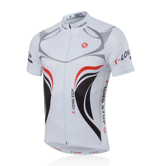 9fe7e7da8 SAIL SUN Men Pro Cycling Jersey Top White Bicycle Clothing mtb Clothes  Summer Bike Shirts Cycling Jackets Breathable