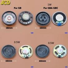 Сменный динамик JCD, 1 шт., 23 мм, 28 мм, 40 мм, Громкий динамик для Nintendo Game Boy, цветной Расширенный для GBO GB, GBC, GBA, видеодинамик