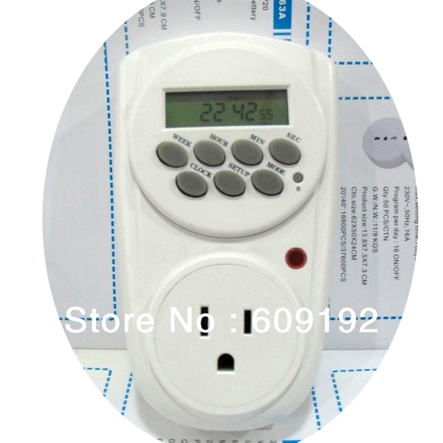 The 110V timer American Standard timer timing socket timing switch power supply timer reminder