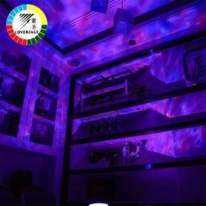 Image 4 - Coversage Ocean Wave Proiettore HA CONDOTTO LA Luce di Notte Con USB A Distanza di Controllo di Carte di TF del Giocatore di Musica Dellaltoparlante Aurora Dropship di Proiezione