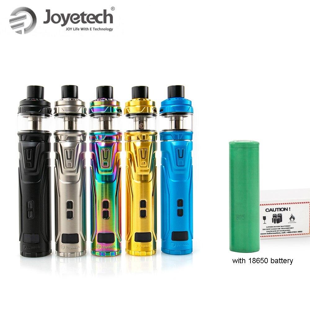 100% Original Joyetech ULTEX T80 avec CUBIS Max Kit avec batterie 18650 (inclus) NCFilm chauffage OLED écran E-Cigarette