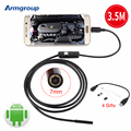 Endoscope 7mm 6LED USB Android Endoscope Camera Mini USB Endoscopio Camera Android Borescope Endoskop Kamera Tube Snake Camera