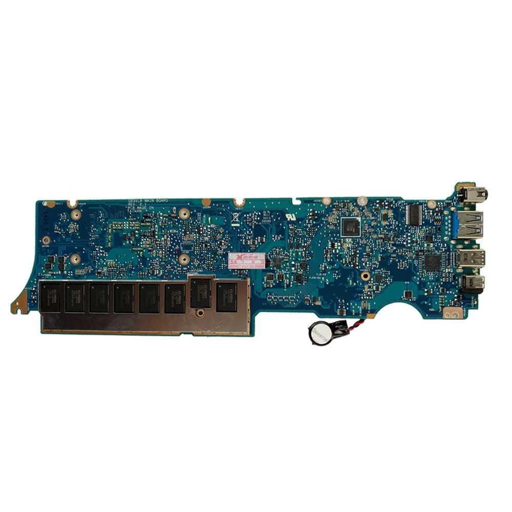 UX31LA Laptop Cho Asus UX31LA UX31L UX31 Thử Nghiệm Ban Đầu Mainboard 8G RAM I7-4500U