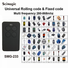 Auto-Scan 280mhz - 868mhz Multi Frequency brand rolling code remote control duplicator receiver gate control garage command(China)