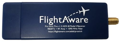 NEW 1PC FlightAware Pro Stick Plus ADS B USB Receiver with Built in Filter from FlightAw-in Earphone Accessories from Consumer Electronics    1