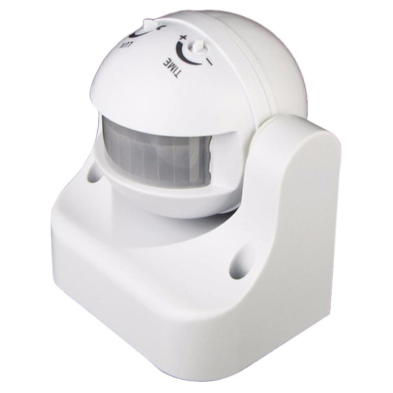 110V-240V Outdoor Ip44 180 Degree 50/60Hz Security Pir Motion Movement Sensor Detector Switch Infrared Motion Sensor Switch   #8