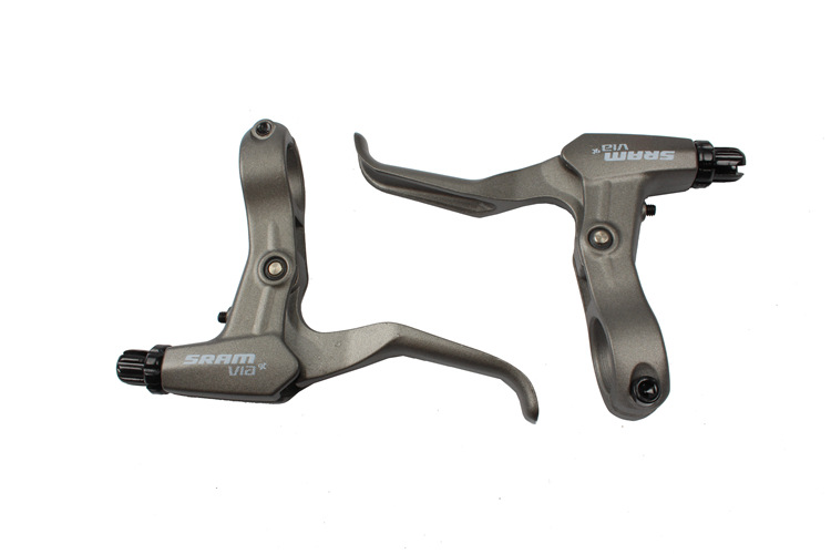 1 Pair Handle Brake Levers Bike Cycling Road Bicycle Alloy Handles Lever