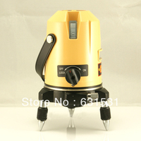 Новое Автоматическое самонивелирование Fukuda 5 линия 1 точка 4V1H Лазерный уровень EK 234 P