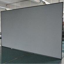 Диагональ 16:9 окружающего света отклонение фиксированной рамки проекционный экран проектора для ультра короткие пледы проекторы