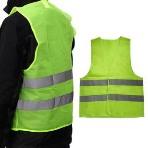 Reflective Workwear High Visibility Warning Safety Vest