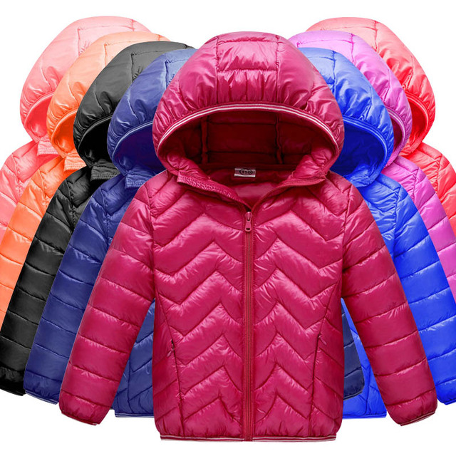 efab9730f US $15.98 |Children's Fall Winter Jackets Boys & Girls Down Jackets Warm  Hooded Long Sleeves Baby Toddlers Boys Jackets Children's Coats-in Down &  ...