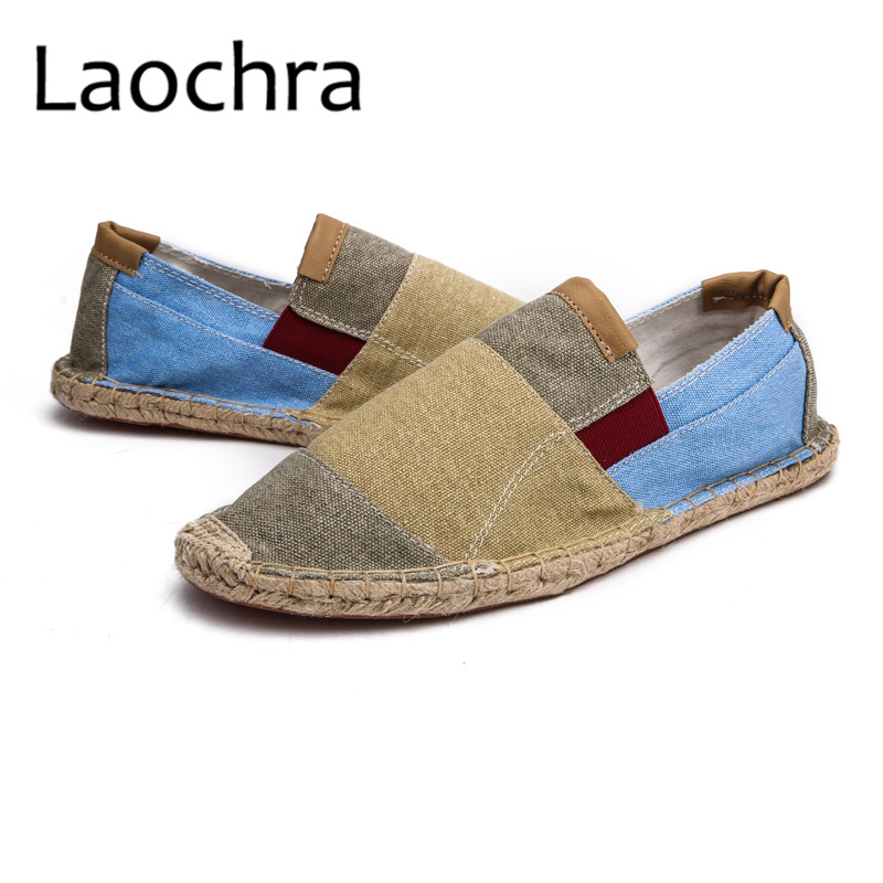 LAOCHRA Men Design Fishman Shoes Paris Famous Retro Style Espadrilles - Men's Shoes - Photo 4