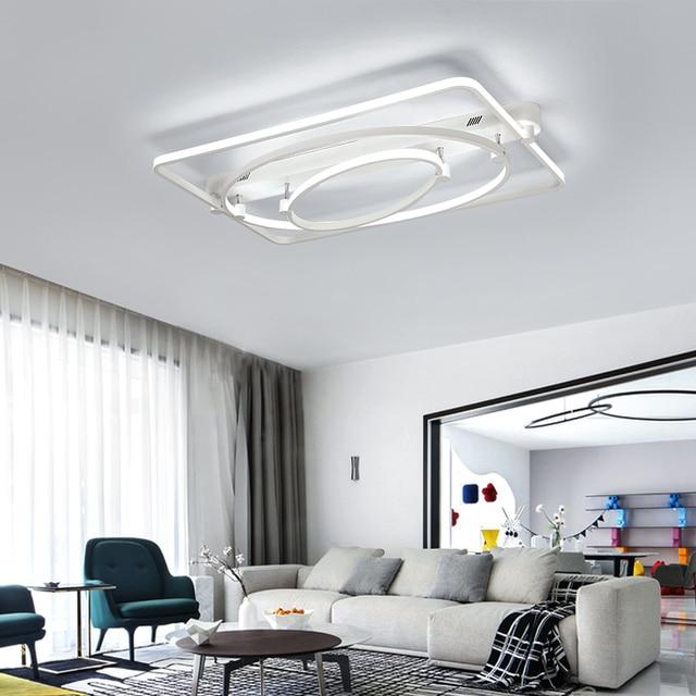 Nuova Forma Geometrica di Arte Lampadario LED Lampadario Moderno ...