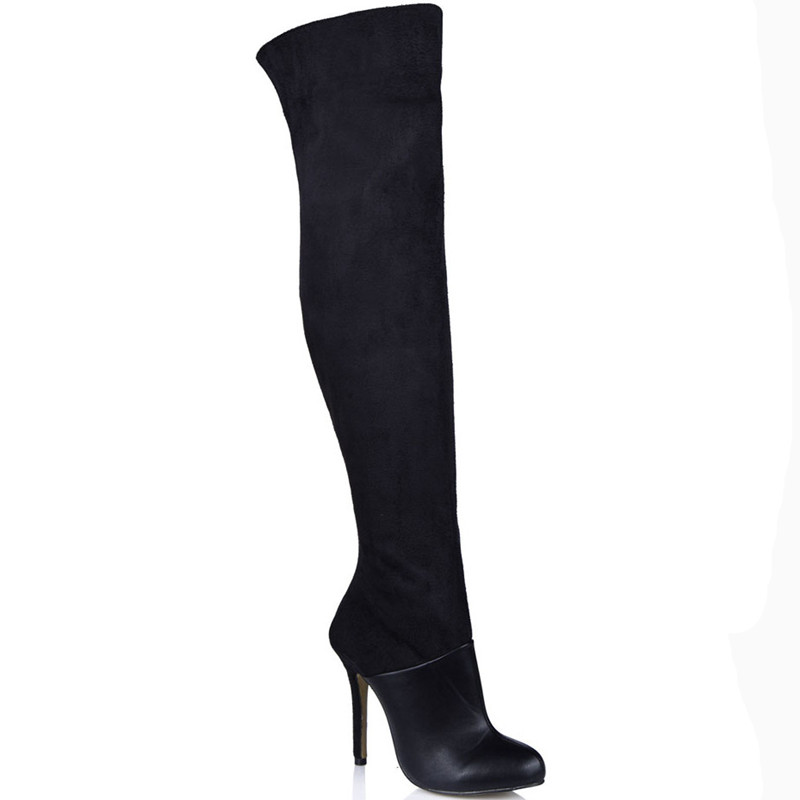 plus size knee high boots 28 images new womens 3