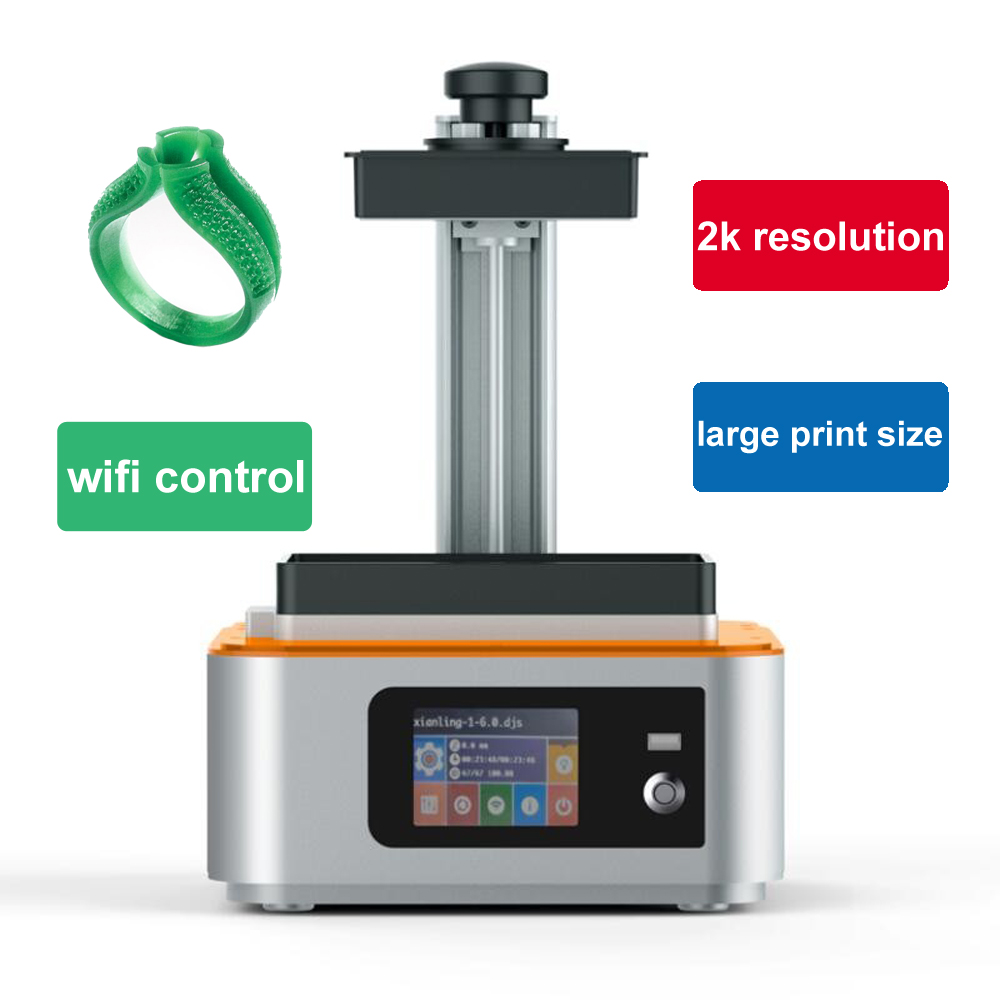 Sculptor UV Light-Curing wifi SLA/LCD 3d printer large print with 405nm UV resin DLP Impresora for Jewelry dentistry photon gift цена