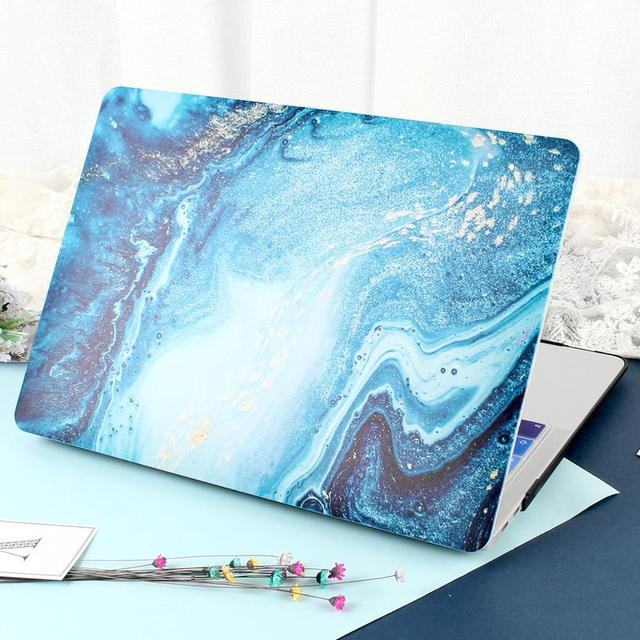 Rubberized Matte Laptop Case Cover for Macbook Air 13 Mac Book 2019 Retina Pro 13 15″ Touch bar A1989 A1990+Keyboard Cover