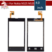 10pcs/lot For Nokia Lumia 520 N520 Touch Screen Touch Panel Sensor Digitizer Front Glass Outer Lens Touchscreen With Frame цена в Москве и Питере