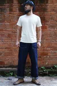 Image 5 - ברונסון צינורי חולצות במשקל כבד קצר שרוול צוות צוואר קיץ גברים של בסיסית טי