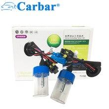 Carbar# HID H3 Xenon Lights Bulbs Universal Car Headlight Conversion Kit Replacement HID Bulbs 6000K 55W HID Xenon Bulb H1 H4 H7