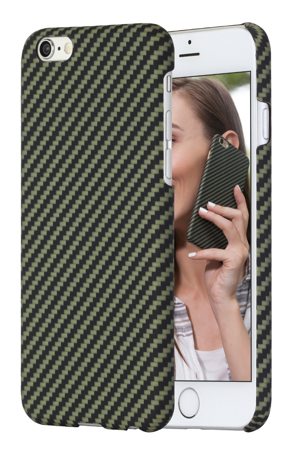 newest 17178 ce7bb US $76.0 |PITAKA Aramid(Bullet proof Material) Unisex Phone Cases For  iPhone 6 Plus/iPhone 6s Plus 360 Degree Protective With Free Gift-in Men's  ...