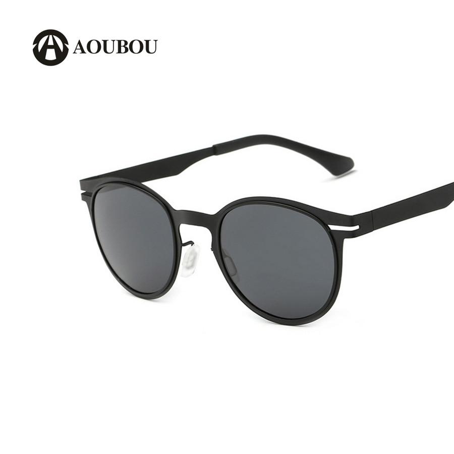 Gafas de sol polarizadas, lentes de sol tipo piloto para