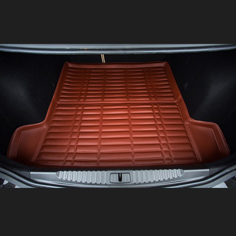 Fit Car Custom Trunk Mats Cargo Liner for Nissan LIVINA SYLPHY TEANA QASHQAI Car-styling 5D Carpet Rugs custom cargo liner car trunk mat carpet interior leather mats pad car styling for dodge journey jc fiat freemont 2009 2017
