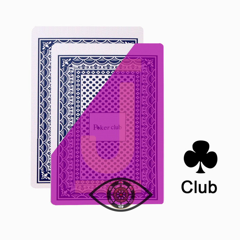 jogo mágicos cartões invisíveis para lentes de