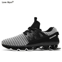 Hot Spring Autumn High Quality Men Casual Shoes Fashion Brand Soft Breathable Lace Up Male Shoes