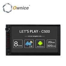 Ownice C500 Android 6.0 Octa Core 2 din Universal Para Nissan GPS Navi BT Radio Estéreo Reproductor de Audio (No DVD) construir-en 4G Moudule