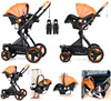 Belecoo-Luxury-Baby-Stroller-2-in-1-Carriage-3