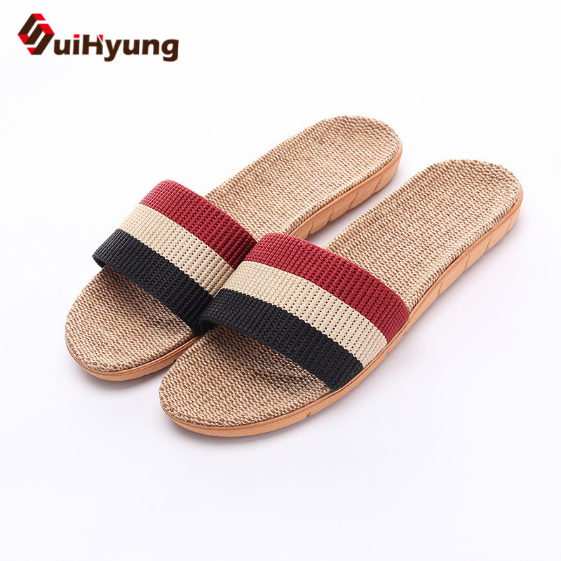 suihyung-new-men-slippers-plush-size-40-45-summer-outside-beach-shoes-flip-flops-casual-slides-sandals-man-indoor-flax-slippers